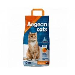 Άμμος AEGEAN CATS πορτοκάλι 5kg