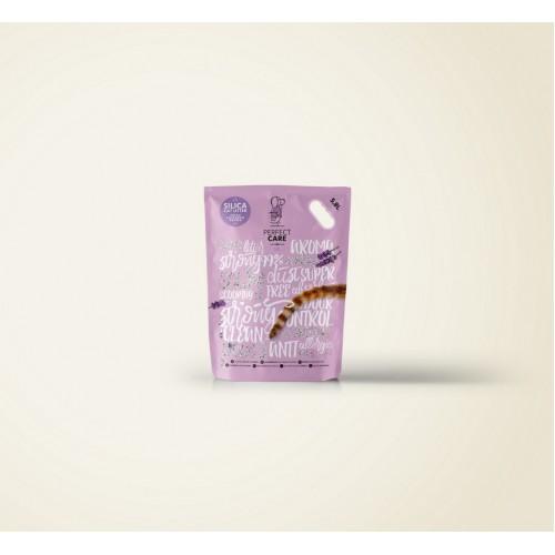 Άμμος Γάτας Κρυσταλλική Perfect Care Λεβάντα 5.8lt