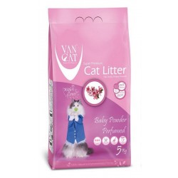 Van Cat Baby Powder Clumping 5kg