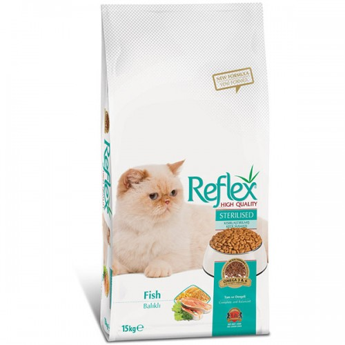 Reflex Sterilized Cat Fish 15kg