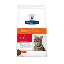 Hill's Prescription Diet c/d Stress Urinary Care Τροφή Για Γάτες Με Κοτόπουλο 400gr