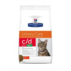 Hill's Prescription Diet c/d Urinary Stress Reduced Calorie Urinary Care Τροφή Για Γάτες Με Κοτόπουλο 4kg