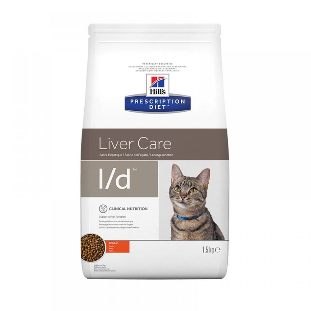 78ca90a8f7f9 Hill s Prescription Diet l d Liver Care Τροφή Για Γάτες Με Κοτόπουλο 1.5kg