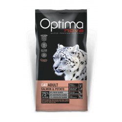 Optima Nova Cat Adult Salmon-Potato 2kg
