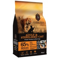 Ambrosia Grain Free Adult-Sterilized Cat 6kg