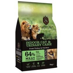 Ambrosia Grain Free Indoor Cat-Urinary Care 2kg
