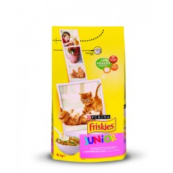 Friskies  Junior Κοτόπουλο Γάλα & Λαχανικά 10Kg