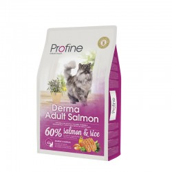 Profine Adult Cat Derma Salmon & Rice 10kg