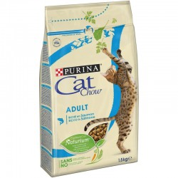 Cat Chow Adult Σολομός & Τόνος 1,5kg
