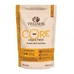 Wellness Core Sterilised Chicken & Turkey 300gr