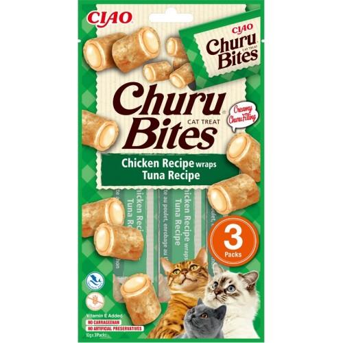 Inaba Churu Bites Broth and Calamari Recipe 3 x 10g mini bags