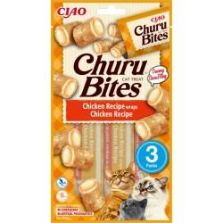 Inaba Churu Bites Chicken Recipe 3 x 10g mini bags