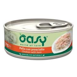 Oasy Specialita Κοτόπουλο-Ζαμπόν 70gr