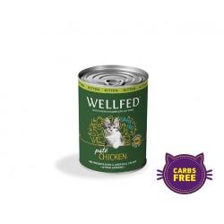 Wellfed-Kitten - Chicken 400gr