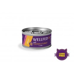 Wellfed Sterilised-Adult-Chicken-Turkey 100gr