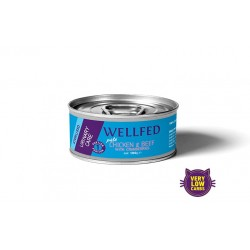 Wellfed Urinary Chicken & Beef with Cranberries 100gr