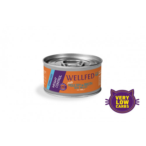 Wellfed Weight Control Poultry with Millet 100gr