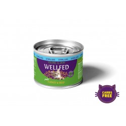 Wellfed-Young Sterilized Turkey & Beef  200gr