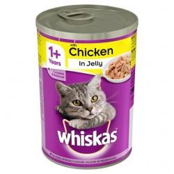Whiskas Κονσέρβα Γάτας Κοτόπουλο 400gr