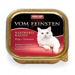 Κονσέρβα Γάτας Vom Feinsten Για Στειρωμένες Γαλοπούλα-Ντομάτα 100gr
