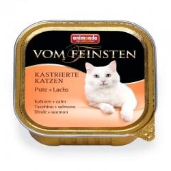 Κονσέρβα Γάτας Vom Feinsten Κοτόπουλο-Φιλέτο Σολομού 100gr
