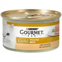 Purina Gourmet Gold Mousse Γαλοπούλα 85gr