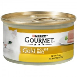 Purina Gourmet Gold Mousse Κοτόπουλο 85gr