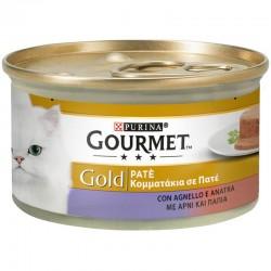 Purina Gourmet Gold Pate Αρνί & Πάπια 85gr