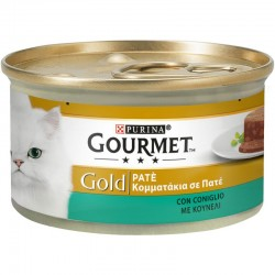 Purina Gourmet Gold Pate Κουνέλι 85gr
