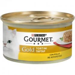 Purina Gourmet Gold Tartar Κοτόπουλο 85gr
