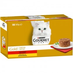 Purina Gourmet Gold Tartar Μοσχάρι 85gr