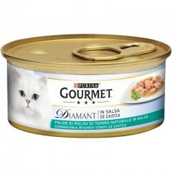 Purina Gourmet Diamant Φιλετάκια σε σάλτσα Tόνος 85gr