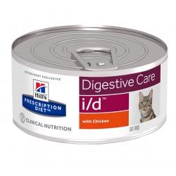 Hill's Prescription Diet i/d Digestive Care Τροφή Για Γάτες Με Κοτόπουλο 156gr