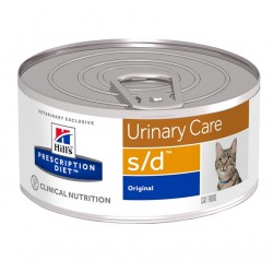 Hill's Prescription Diet s/d Urinary Care Tροφή Για Γάτες 156gr