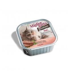Πατέ Migliorgatto Sterilized Σολωμός-Ρύζι 100gr