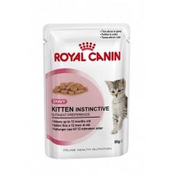 Royal Canin Κitten Instictive Gravy Pouch 85gr