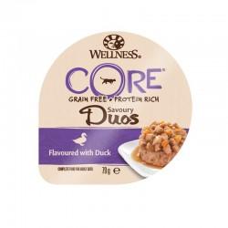 Wellness Core Savory Duos Pate Πάπια 79gr