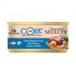 Wellness Core Signature Select Τόνος & Γαρίδα σε Ζωμό 79gr