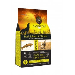 Ambrosia Dog Adult Mini Chicken-Salmon 6kg