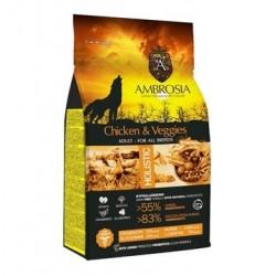 Ambrosia Grain Free Adult Chicken-Vegies 12kg