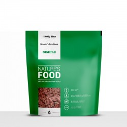 Nature's Food Simple σε Κιμά-Εκτροφική Συσκευασία-1kg