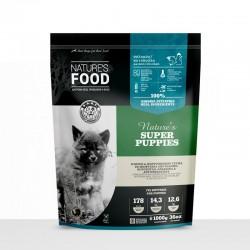 Nature's Food Super Puppies σε Μπιφτέκια 1kg