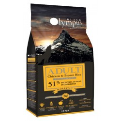 Black Olympus Adult Chicken And Brown Rice 12kg