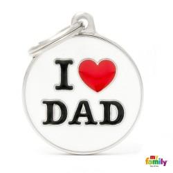 Ταυτότητα Charms I love Dad