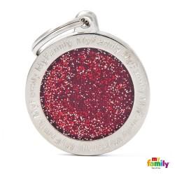 Ταυτότητα Glitter Κύκλος Large