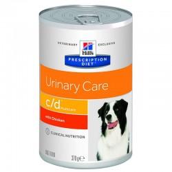 Hill's Prescription Diet c/d Multicare Urinary Care Τροφή Για Σκύλους Με Κοτόπουλο 370gr