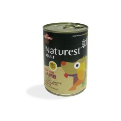 Naturest Adult Beef And Lamp With Carrots And Sunflower Oil 400gr