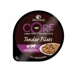 Wellness Core Tender Filets Κοτόπουλο-Βοδινό 170gr