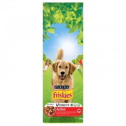 Purina Friskies Active Βοδινό 18kg