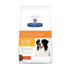 Hill's Prescription Diet c/d Multicare Urinary Care Τροφή Για Σκύλους Με Κοτόπουλο 12kg
